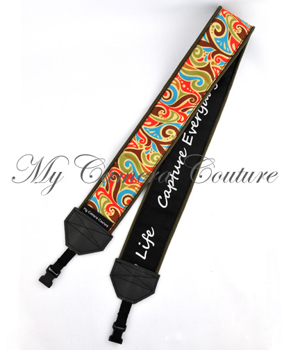 Reverse View of SLR and DSLR Camera Strap